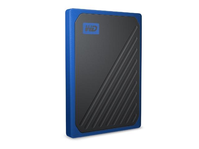 【新品/取寄品/代引不可】My Passport Go ポータブルSSD 1TB ブルー WDBMCG0010BBT-JESN