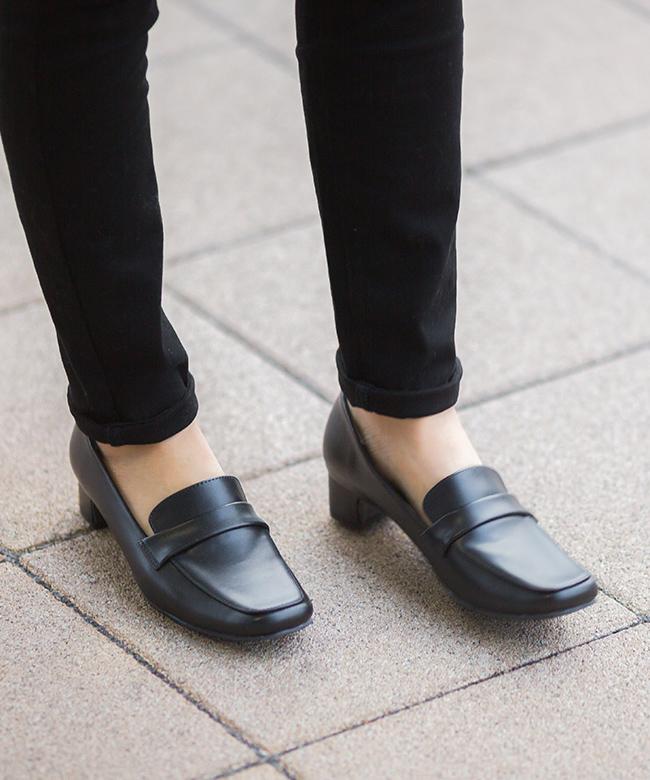 選べる10タイプ!リクルート オフィス フォーマル パンプス 痛くない 疲れない 黒 ブラック 太ヒール レディース リボン ビジネス 大きいサイズ ビジネスシューズ 歩きやすい 走れる ストラップ 3.5cm 4.5cm 5cm 6cm 靴