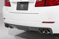3D Design リアディフューザー BMW 5シリーズ 535i F10用 4テール (3108-21021)【エアロ】3Dデザイン Rear Diffuser【通常ポイント10倍!】