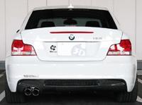 3D Design リアディフューザー BMW 1シリーズ 135i M-Sport E82用 シングル (3108-18211)【エアロ】3Dデザイン Rear Diffuser【通常ポイント10倍!】