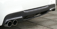 3D Design リアディフューザー BMW 3シリーズ 320i/323i/325i/330i M-SPORT E90/E91用 シングル (3108-19011)【エアロ】3Dデザイン Rear Diffuser【通常ポイント10倍!】
