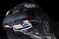 パワーハウス アミューズ R1チタン RSサイレント スバル インプレッサ GRB用 ゴールドリング仕様【マフラー】power house amuse R1 TITAN RS SILENT【車関連の送付先指定で送料無料】