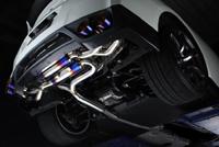 AMUSE R1TITAN EXTRA STTI GOLD RING 日産 ニッサン GT-R R35用 【マフラー】【自動車パーツ】アミューズ R1チタン エクストラ STTI ゴールドリング【車関連の送付先指定で送料無料】