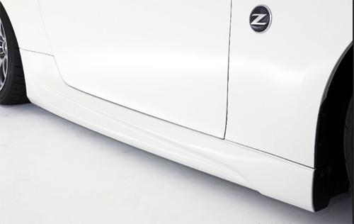 AMUSE サイドステップ 日産 ニッサン フェアレディZ Z34用 【エアロ】アミューズ Side Step【通常ポイント10倍!】