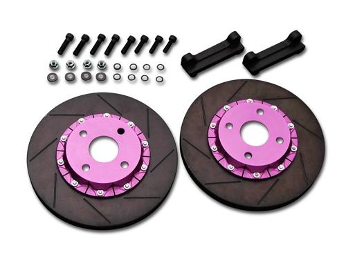 Biot Front Brake Offsetkit スバル インプレッサ GC8用 (BR.OS.F-GC-S)【ブレーキローター】ビオ フロント ブレーキオフセットキット【通常ポイント10倍!】