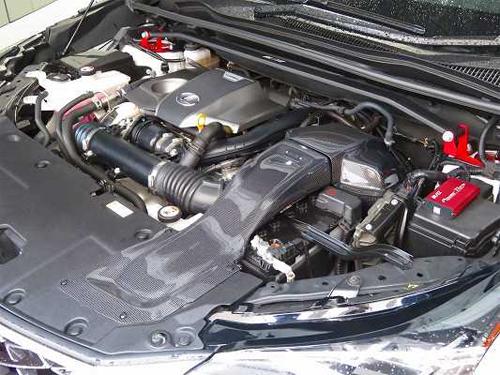 BLITZ CARBON INTAKE SYSTEM レクサス NX AGZ10/AGZ15用 (27024)【インテーク】ブリッツ カーボンインテークシステム