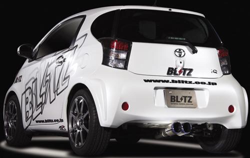 BLITZ NUR-SPEC VSR トヨタ iQ KGJ10用 (62075V)【マフラー】【自動車パーツ】ブリッツ ニュルスペック ブイエスアール【車関連の送付先指定で送料無料】【通常ポイント10倍!】