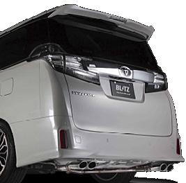 BLITZ NUR-SPEC VS トヨタ ヴェルファイア 3.5L 4WD エアロバンパー車 GGH35W用 (62519)【マフラー】【自動車パーツ】ブリッツ ニュルスペック ブイエス【車関連の送付先指定で送料無料】【通常ポイント10倍!】