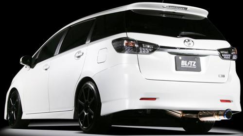 BLITZ NUR-SPEC VSR トヨタ ウィッシュ ZGE20G/ZGE20W用 (63087V)【マフラー】【自動車パーツ】ブリッツ ニュルスペック ブイエスアール【通常ポイント10倍!】