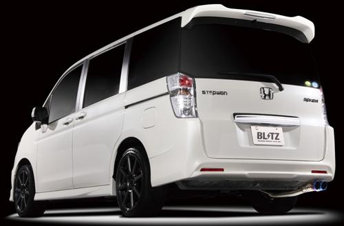 BLITZ NUR-SPEC VSR ホンダ ステップワゴン スパーダ RK5用 (63093V)【マフラー】【自動車パーツ】ブリッツ ニュルスペック ブイエスアール【通常ポイント10倍!】