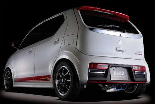 ローダウン車 ブイエスアール【通常ポイント10倍!】 (63522V)【マフラー】【自動車パーツ】ブリッツ NUR-SPEC 4WD VSR BLITZ アルトワークス HA36S用 スズキ ニュルスペック