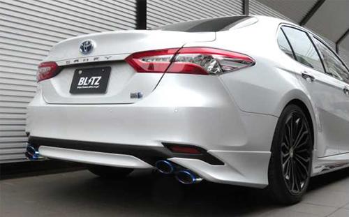 BLITZ NUR-SPEC VS Quad トヨタ カムリ AXVH70用 (63548)【マフラー】【自動車パーツ】ブリッツ ニュルスペック ブイエス クアッド【通常ポイント10倍!】