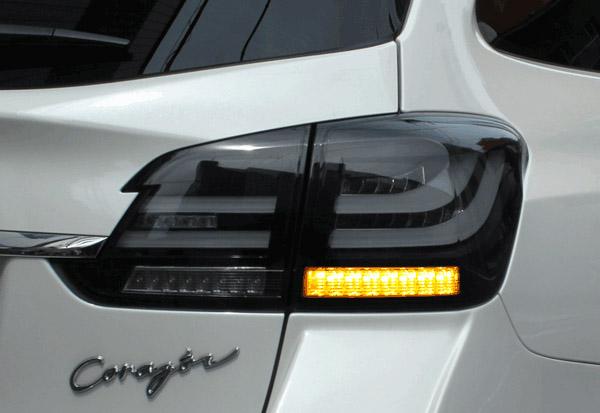 CORAZON LED TAIL LAMP BLACK EDITION SEQUENTIAL スバル レヴォーグ VMG/VM4用 (CZ-VM-LT003S)【電装品】コラゾン LEDテールランプ ブラックエディション シーケンシャルウインカー【通常ポイント10倍!】
