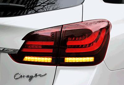 CORAZON LED TAIL LAMP BLACK BEZEL SWITCH VERSION スバル レヴォーグ VMG/VM4用 (CZ-VM-LT012SF)【電装品】コラゾン LEDテールランプ ブラックベゼル スイッチバージョン【通常ポイント10倍!】