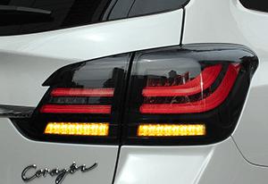 CORAZON LED TAIL LAMP SEQUENTIAL PREMIUM BLACK スバル レヴォーグ VMG/VM4用 (CZ-VM-LT024S)【電装品】コラゾン LEDテールランプ シーケンシャルプレミアム ブラック【通常ポイント10倍!】