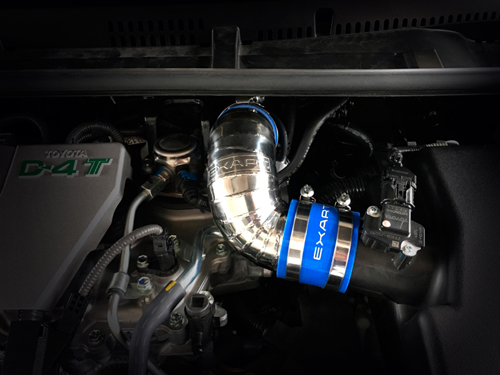 EXART Air Intake Stabilizer トヨタ オーリス NRE185H用 (EA04-TY109-N)【インテーク】エクスアート エアインテーク スタビライザー【通常ポイント10倍!】