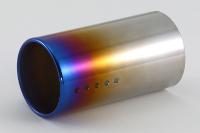 【クーポンで最大2000円OFF】FUJITSUBO RAINBOW FINISHER L190 装着可能テール径100φ 焼色グラデーション (109-10021)【マフラーパーツ】フジツボ レインボーフィニッシャー 藤壺技研
