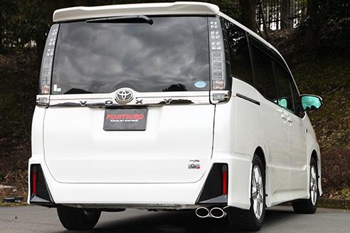FUJITSUBO AUTHORIZE S トヨタ ヴォクシー ZS G's 2WD ZRR80W用 (360-27441)【マフラー】フジツボ オーソライズS 藤壺技研