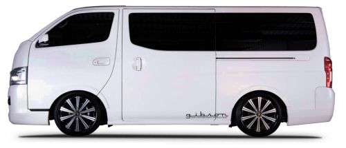 GIBSON Blind Fender 日産 ニッサン NV350キャラバン E26系用 【エアロ】ギブソン ブラインドフェンダー【通常ポイント10倍!】