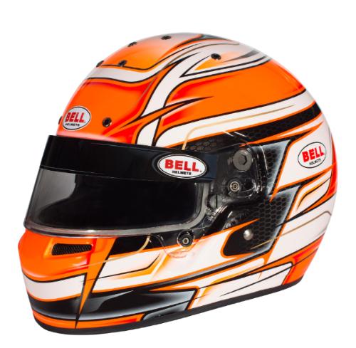 BELL RACING HELMETS KART Series KC7-CMR VENOM ORANGE カラー:オレンジ【四輪用ヘルメット】ベルレーシングヘルメット カートシリーズ KC7-CMR ヴェノム オレンジ【通常ポイント10倍!】