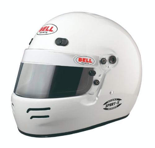 BELL RACING HELMETS SPORT Series SPORT5 カラー:ホワイト【四輪用ヘルメット】ベルレーシングヘルメット スポーツシリーズ スポーツ5【通常ポイント10倍!】