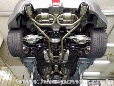 HKS Super Sound Master 日産 ニッサン フェアレディZ ロードスター MT車 HZ34用 (32023-AN005)【JQR認定品】【マフラー】【自動車パーツ】エッチケーエス スーパーサウンドマスター【車関連の送付先指定で送料無料】