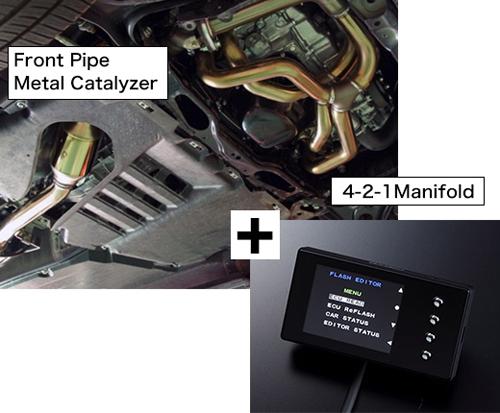 HKS R-SPEC ECU Package スバル BRZ MC後 ZC6用 (33009-AT007)【エキマニ】【触媒】【サブコン】エッチケーエス アールスペック ECUパッケージ【車関連の送付先指定で送料無料】
