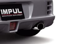 IMPUL BLAST II MUFFLER 日産 ニッサン マーチ K13用 【マフラー】【自動車パーツ】インパル ブラスト2 マフラー【代引き不可】【通常ポイント10倍!】