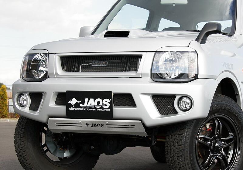 JAOS FRONT SPORTS COWL スズキ ジムニー JB23用 (B040512) 【エアロ】 ジャオス フロント スポーツカウル【通常ポイント10倍!】