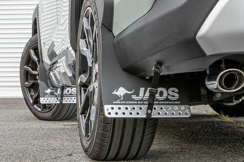 JAOS マッドガード3 前後セット ブラック トヨタ RAV4 50系用 (B610125/B622002) 【外装品】 ジャオス MUD GUARD III 黒 フロント/リヤ セット
