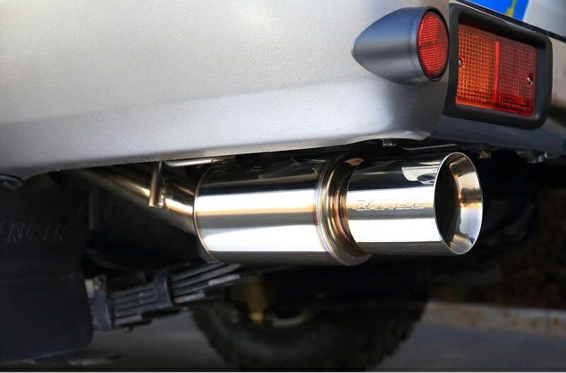 JAOS BATTLEZ EXHAUST ZS トヨタ ランドクルーザー バン (ランクル) GRJ76用 (B702241A) 【マフラー】 ジャオス バトルズ エキゾースト ZS【通常ポイント10倍!】