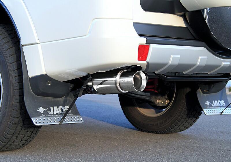JAOS BATTLEZ EXHAUST ZS ミツビシ パジェロ V98W用 (B702328D) 【マフラー】 ジャオス バトルズ エキゾースト ZS
