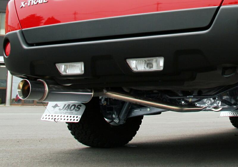 JAOS BATTLEZ EXHAUST ZS 日産 ニッサン エクストレイル ガソリン車 31系用 (B702442) 【マフラー】 ジャオス バトルズ エキゾースト ZS【新規制対応】【通常ポイント10倍!】