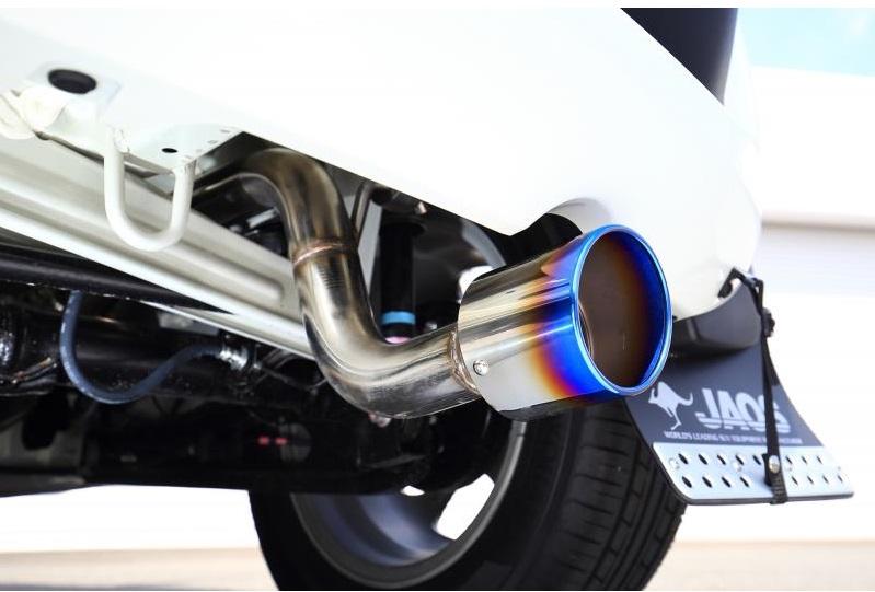 JAOS BATTLEZ EXHAUST ZS-Ti スズキ イグニス 4WD用 (B702545T) 【マフラー】 ジャオス バトルズ エキゾースト ZS チタンテール【通常ポイント10倍!】