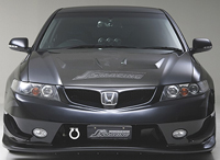 J's RACING フロントバンパー タイプS(FRP) ホンダ アコード CL7/CL9/CM2用 (品番:JSF-E2-F)【エアロ】ジェイズレーシング Front Bumper【通常ポイント10倍!】