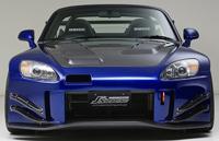 J's RACING フロントバンパー 2.0 タイプS(カーボン) ホンダ S2000 AP1用 (品番:JSF-S1-C2)【エアロ】ジェイズレーシング Front Bumper【通常ポイント10倍!】