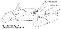 柿本改 カキモトレーシング Class KR スバル レガシィツーリングワゴン 2.5GT BR9用 左右出し (B71335)【マフラー】【自動車パーツ】KAKIMOTO RACING クラス ケーアール【個人宅も送料お客様負担にて配送可能】【通常ポイント10倍!】