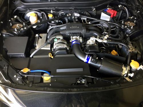 Minamoto Super Jet Chamber Heat Panel Type.I Set セラコートモデル カラー:ブラック スバル BRZ ZC6用 (SJS001C)【インテーク】【クーリングパーツ】源 ミナモト スーパージェットチャンバー サクションパイプキット ヒートパネル タイプ1セット