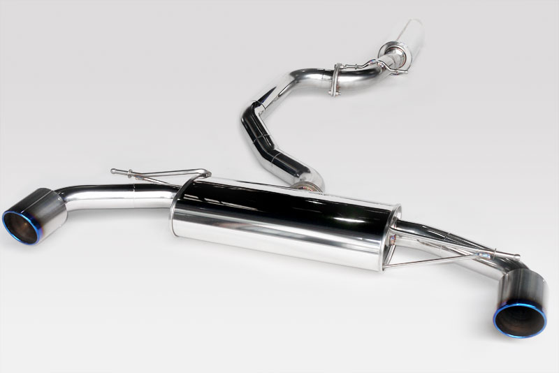 アーキュレー エキゾーストシステム チタンテール VW フォルクスワーゲン SCIROCCO R用 左右シングル 品番(8300TK39)【旧基準】)【マフラー】【自動車パーツ】ARQRAY Exhaust System Titanium Tail【通常ポイント10倍!】