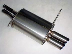アーキュレー エキゾーストシステム チタン サイレンサー BMW E40 Z3 2.2/3.0用 片側W 品番(8030TS42)【マフラー】【自動車パーツ】ARQRAY Exhaust System Titanium Silencer【通常ポイント10倍!】