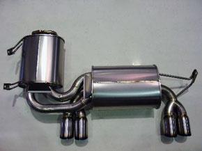 アーキュレー エキゾーストシステム チタン サイレンサー BMW E46 M3用 左右W 品番(8030TS01)【マフラー】【自動車パーツ】ARQRAY Exhaust System Titanium Silencer