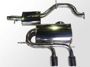 アーキュレー エキゾーストシステム ステンレス シリーズ VW フォルクスワーゲン GOLF V R32用 品番(8300AU32)【マフラー】【自動車パーツ】ARQRAY Exhaust System Stainless Series【通常ポイント10倍!】