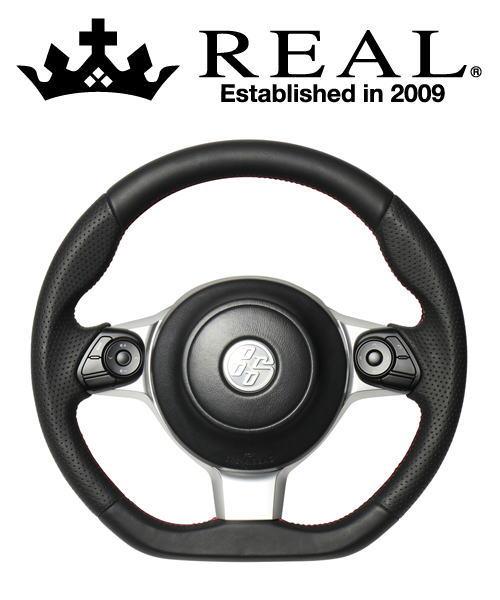 【クーポンで最大2000円OFF】REAL STEERING オリジナルシリーズ トヨタ ノア GR SPORT ZRR80W用 カラー:オールレザー (GR-LPB-RD)【ハンドル】レアル ステアリング【通常ポイント10倍!】