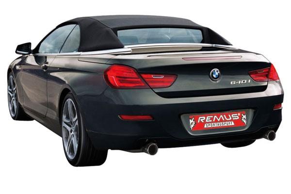 REMUS レムス SPORTS LABEL BMW 6シリーズ 640i F12 用(089011 0598CLR)【eマーク適合品】【通常ポイント10倍!】