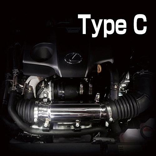 スルガスピード エアー コントロール チャンバー レクサス RX200t AGL20W/AGL25W用 TypeC (SRA-280)【インテーク】SURUGA SPEED AIR CONTROL CHAMBER【通常ポイント10倍!】