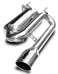 スルガスピード PFSループサウンドマフラー レクサス HS250h ANF10用 (SRL-028)【マフラー】【自動車パーツ】SURUGA SPEED PFS LOOP SOUND MUFFLER