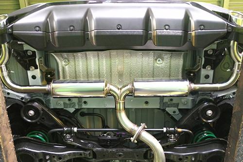 スルガスピード PFSスポーツマフラー(チタンテール) レクサス RX300/200t TRDバンパー車 AGL20W/AGL25W用 左右出しダブルテール(SRL-137-C)【マフラー】SURUGA SPEED PFS SPORTS MUFFLER【通常ポイント10倍!】