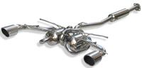 スルガスピード PFSループサウンドマフラー トヨタ 86 ZN6用 直角出し(114φ)/チタンテール(SRT-435-F)【マフラー】SURUGA SPEED PFS LOOP SOUND MUFFLER【通常ポイント10倍!】