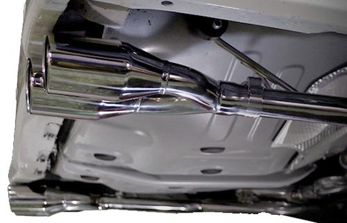 スルガスピード PFSループサウンドマフラー(ステンレステール) トヨタ アルファード 後期 GGH30W用 左右2本出し(SRT-540-C)【マフラー】SURUGA SPEED PFS LOOP SOUND MUFFLER【通常ポイント10倍!】