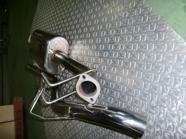 SUXON RACING 4X4 MUFFLER トヨタ ランドクルーザー (ランクル77) ディーゼル車 HZJ77/HZJ76用 片側シングル 下向(LCD-717) 送料区分:C 【マフラー】サクソンレーシング フォーバイフォー マフラー